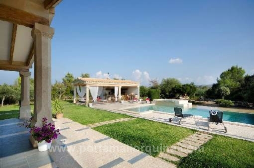 Marvellous country house with much privacy in the Pollensa Golf area
