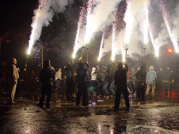 Celebrations at Sant Sebastian