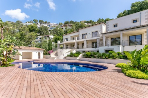 Dream Villa with southern exposure on the Son Vida golf course