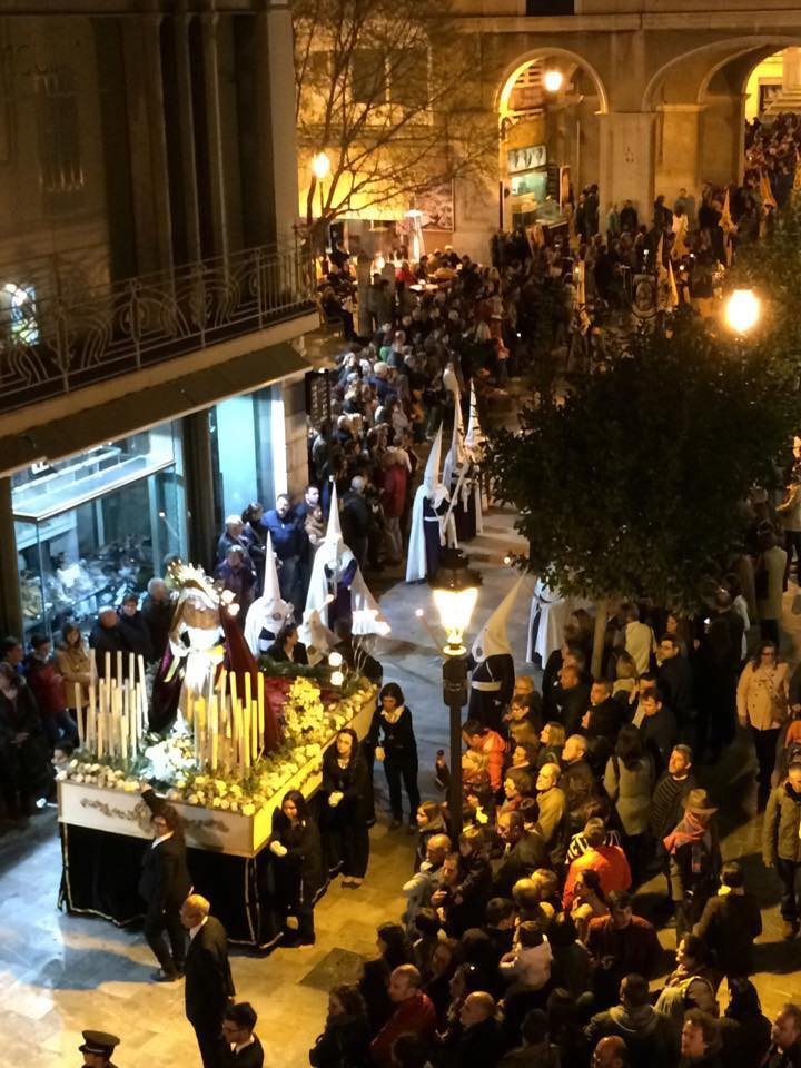 Easter-procession through the streets of Palma