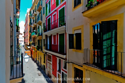 Desired properties in Majorca are apartments in the old town of Palma
