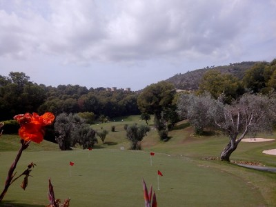 golf course real golf de bendinat, southwest Majorca