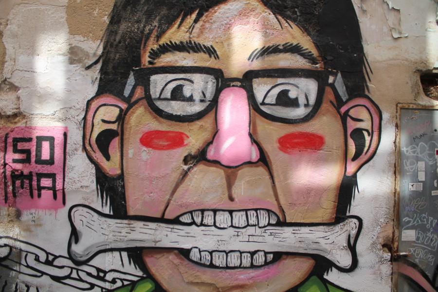 Somas Street Art in Sa Gerreria