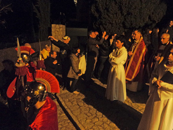 Easter procession in Majorca