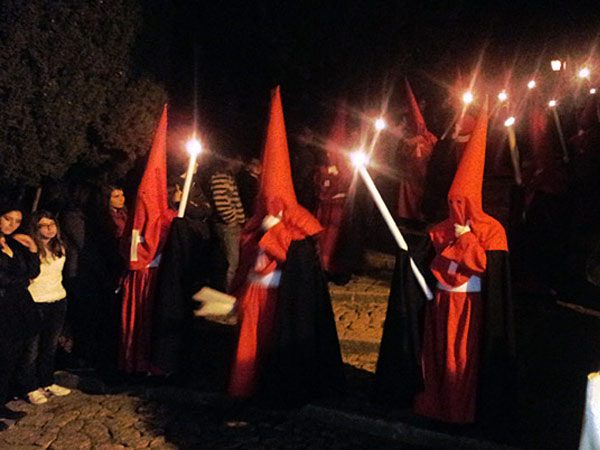 Easter procession in Pollenca, Majorca