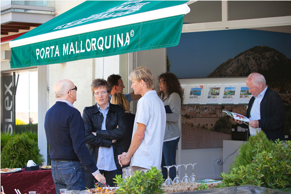 On 26th April Porta Mallorquina invited guests to a Brunch with speakers talking on the subject of holiday letting.