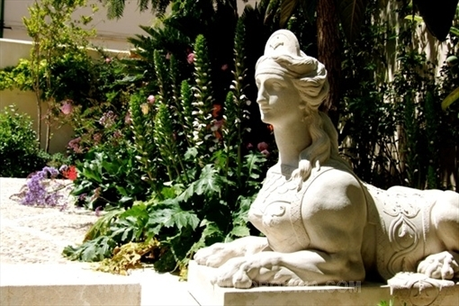Sphinx in the garden