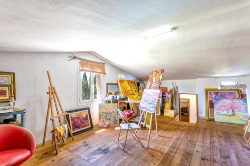 Studio of the finca