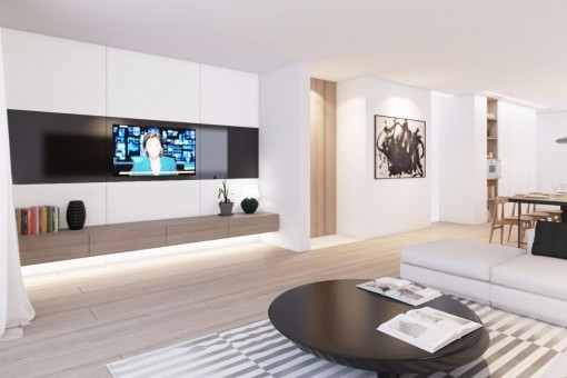Modern Stylish Brand New Apartment In The Desirable
