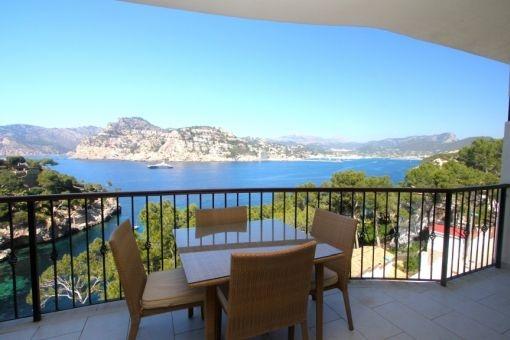 Balcony con vistas impressionantes al mar