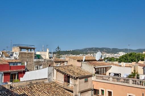 Impressive views over Palmas old town