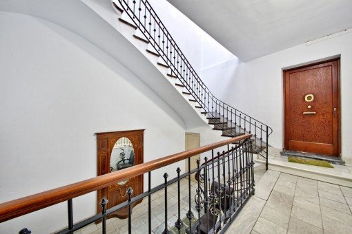 Staircase of the building