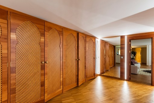 Large built in wardrobe