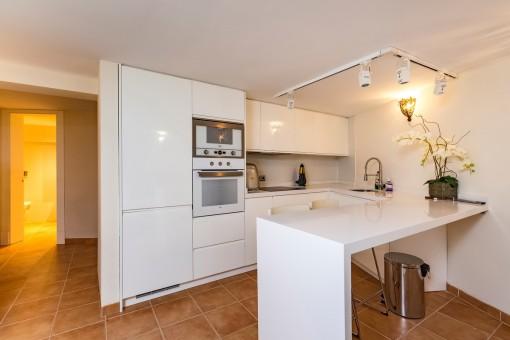 Little kitchen area