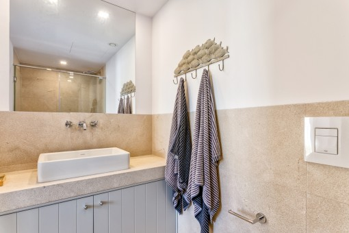 Further bathroom with shower