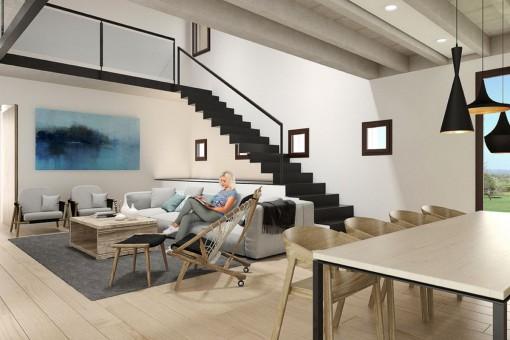 Modern interior desgin
