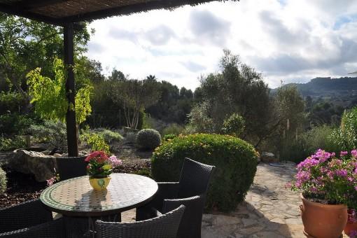 Wonderful finca with panoramic views in Son Macia