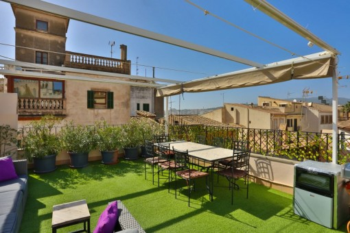 Impressive luxury-penthouse in Palma's old town