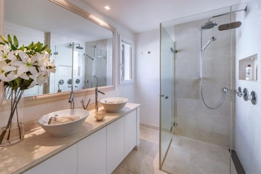 One of 3 charming bathrooms