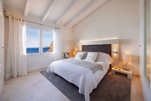 One of 4 luxurious bedrooms