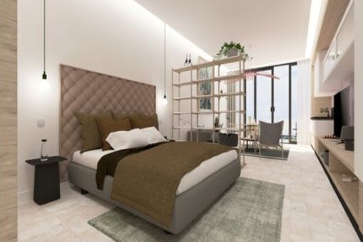 Possible view of a bedroom