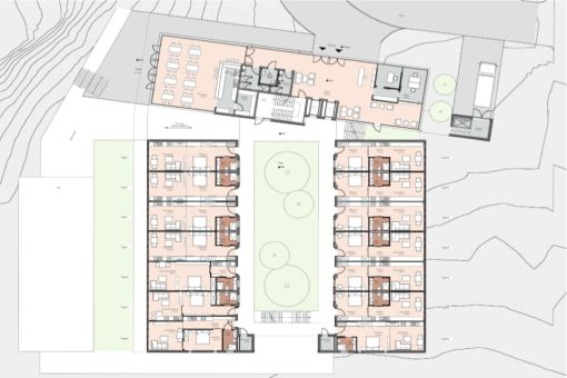 Wonderful, large building plot as an investment object for
