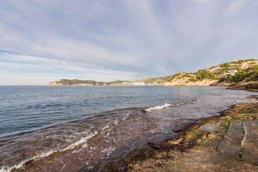 View of the Costa de la Calma