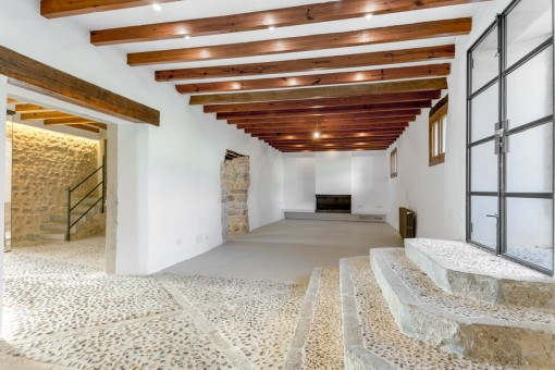 Wonderfully renovated living area