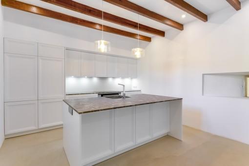 Alternative view of the modern kitchen