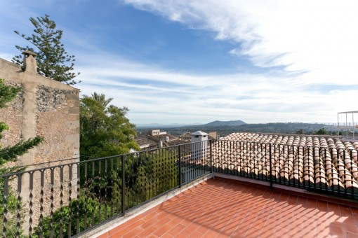 Terrace with panoramic views