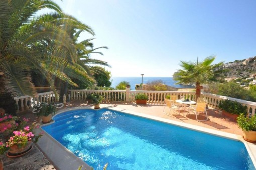 Wonderful villa with terrace and pool in Port Andratx