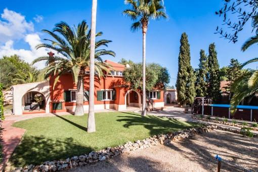 Comfortable summer house in the quiet urbanisation of Cala Murada