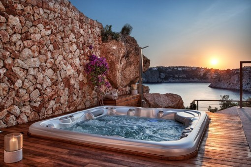 Whirlpool on the terrace