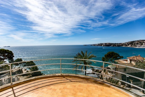 Spectacular sea view terrace