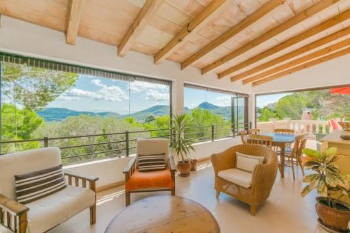 Wonderful villa with sea views in Puerto Andratx
