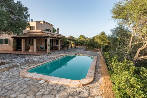 Exclusive house in middle of the countryside in Porto Colom