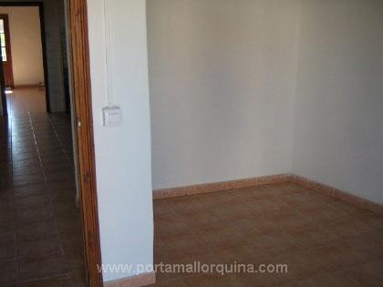 Corridor and bedroom