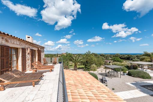 Fantastic terrace