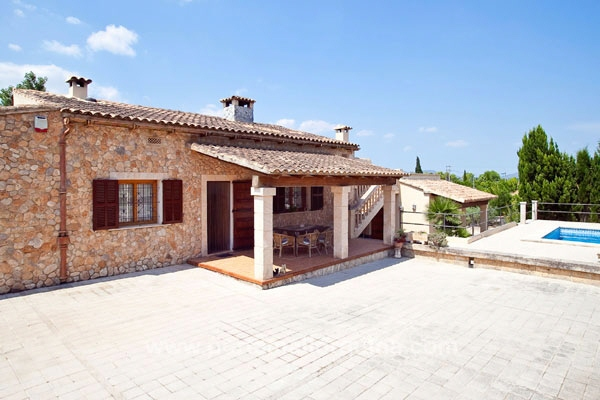 Majorcan Villa with Pool and Fruit Orchard