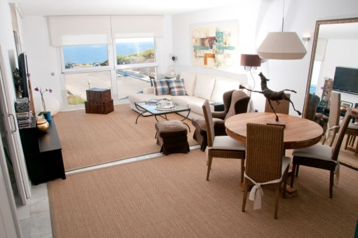 Alternativ view of the living area