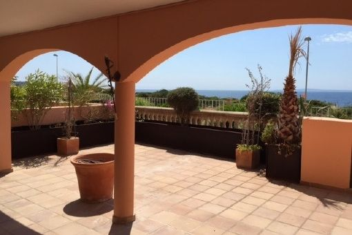 Beautiful apartment with sunny terrace in Son Veri Nou