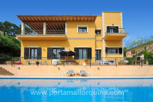Fantastic, spacious villa with wonderful views