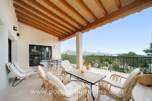 Terrace with ample views