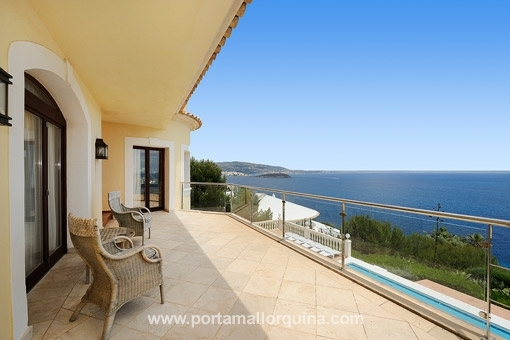 villa in Cala Vinyas for sale