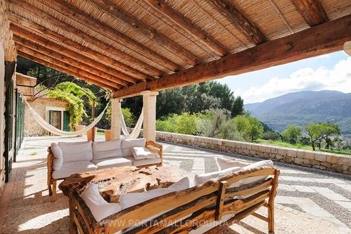 Cosy terrace