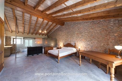 Master bedroom on the upper floor