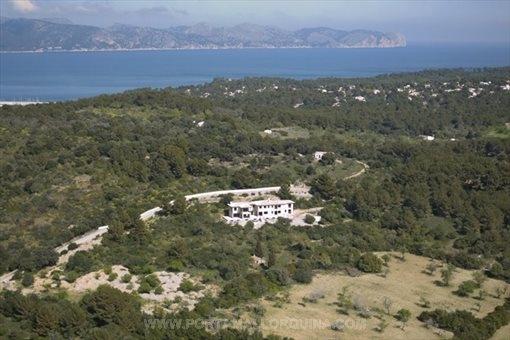 Views toward Cap Formentor and the Bay of Pollensa
