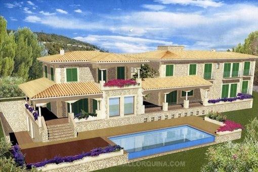 Traditional mediterranean architecture