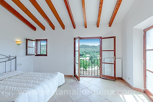 Bedroom with impressive views