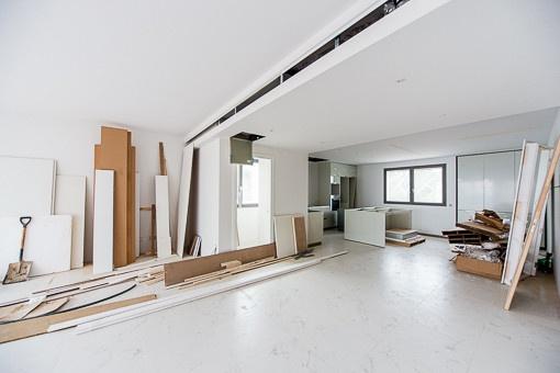 Some apartments still under construction